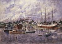 Launching Of Elinor F. Bartram Fine Art Print