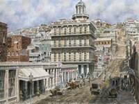 San Francisco, Knob Hill 1854 Fine Art Print