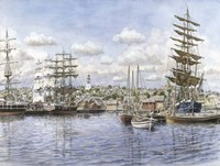 Nantucket, c.1865 Fine Art Print
