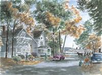 Autumn On Gwenn Dr. Fine Art Print
