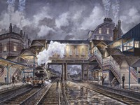 Night Train To Edinbourough Fine Art Print