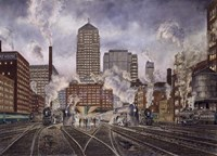 20Th Century Ltd., Leaving Chicago Fine Art Print