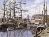 NYC, Pier 28 c.1876 Fine Art Print