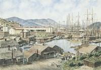 Yerba Buena Cove, San Fran. Fine Art Print