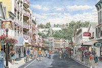 Main St., Mackinaw Fine Art Print