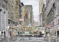 Eddy St., San Francisco Fine Art Print