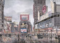 Times Square, New York Fine Art Print