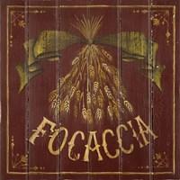 Focaccia Fine Art Print