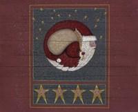 Another Half Moon Santa 2 Fine Art Print