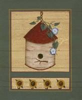 Birch Birdhouse Fine Art Print