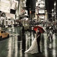 Romance in New York Fine Art Print