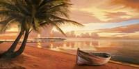 Tramonto ai Tropici Fine Art Print