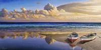 Barche sulla Battigia I Fine Art Print