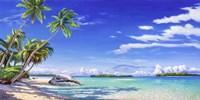 Spiaggia Tropicale Fine Art Print