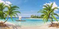 Baia Tropicale Fine Art Print