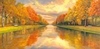 Boulevard sull Acqua Fine Art Print