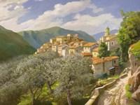Borgo Degli Ulivi Fine Art Print
