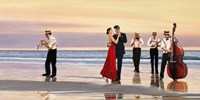 Romance on the Beach Fine Art Print