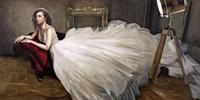 The White Dress Fine Art Print