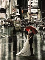 Romance in New York (Detail) Fine Art Print