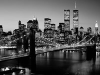 Brooklyn Bridge, NYC BW Fine Art Print