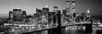 Brooklyn Bridge to Manhattan Fine Art Print