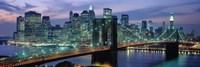 Brooklyn Bridge and Skyline Fine Art Print