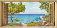 Finestra sul Mare II Fine Art Print