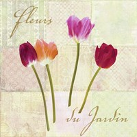 Fleurs du Jardin Fine Art Print