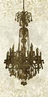 Panneau Chandelier II Fine Art Print