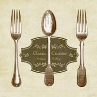 Classic Cuisine Fine Art Print