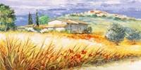 Casa in Collina Fine Art Print