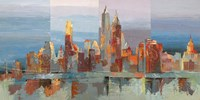 New York Astratta Fine Art Print