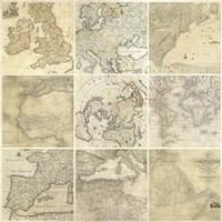 Around the World II Fine Art Print