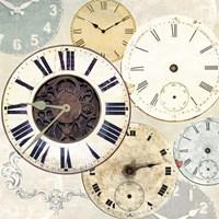 Timepieces I Framed Print