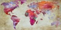 World in Colors Fine Art Print
