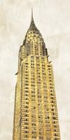 Gilded Skyscraper I Fine Art Print