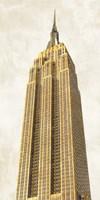 Gilded Skyscraper II Fine Art Print