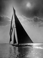 The Vanitie during the America's Cup, ca. 1900-1910 Fine Art Print