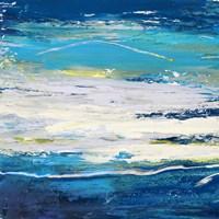 In Volo sul Mare I Fine Art Print