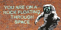 Floating Through Space Fine Art Print