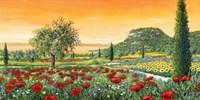 Le Colline in Fiore Fine Art Print