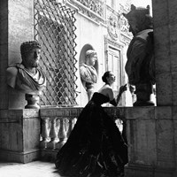 Evening Dress, Roma, 1952 Fine Art Print