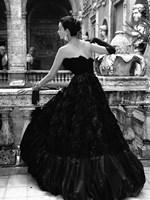 Black Evening Dress, Roma 1952 (Detail) Fine Art Print