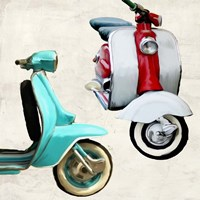 Superscooters I Fine Art Print