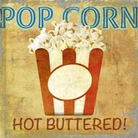 Pop Corn Fine Art Print