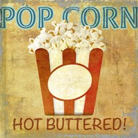 Pop Corn Fine Art Print