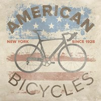 American Bikes Fine Art Print