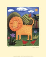 Leo the Lion Fine Art Print