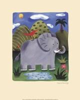 Nellie the Elephant Framed Print